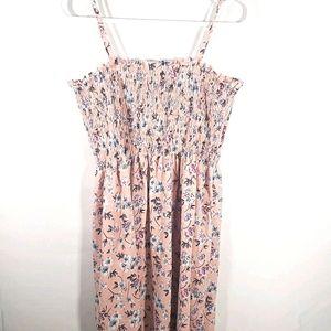 Pink Floral Summer dress Shein Plus Size